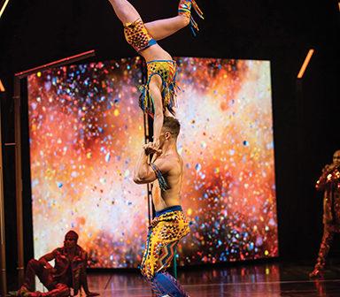 Cirque du Soleil Brings VOLTA